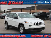 CARFAX One-Owner. Clean CARFAX. White 2016 Jeep