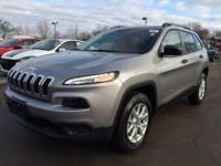4WD. Oh yeah! This 2016 Jeep Cherokee is the SUV you've