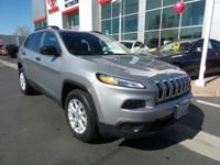 PREMIUM & KEY FEATURES ON THIS 2016 Jeep Cherokee