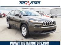 This 2016 Jeep Cherokee Sport is a great option for