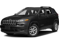 ~~ 2016 Jeep Cherokee Sport ~~ CARFAX: 1-Owner, Buy
