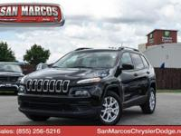 Boasts 31 Highway MPG and 22 City MPG! This Jeep