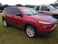 Deep Cherry Red Crystal Pearlcoat 2016 Jeep Cherokee