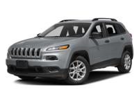 This 2016 Jeep Cherokee Sport has less than 4k miles!!!