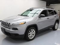 This awesome 2016 Jeep Cherokee comes loaded with the