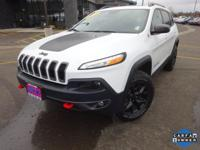 Options:  2016 Jeep Cherokee Trailhawk|White|Priced