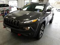 Recent Arrival! This 2016 Jeep Cherokee Trailhawk in