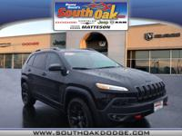 Jeep CERTIFIED... This tough 2016 Jeep Cherokee