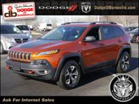 Options:  2016 Jeep Cherokee 4Wd 4Dr