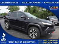 Used 2016 Jeep Cherokee, DESIRABLE FEATURES: a BACKUP