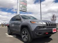 Options:  2016 Jeep Cherokee Trailhawk 4X4||1St And 2Nd