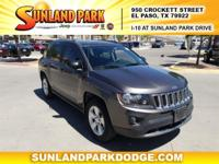 4WD. 6-Speed Automatic 26/20 Highway/City MPG Clean