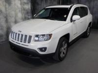 Bright White Clearcoat 2016 Jeep Compass Latitude 4WD