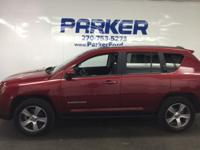 This 2016 Jeep Compass High Altitude Edition is offered