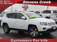 Options:  2016 Jeep Compass High Altitude|White|2.0L