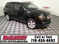 Own the off-road in this 2016 Jeep Compass Latitude