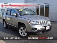 This 2016 Jeep Compass is a new arrival to our