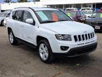 Options:  2016 Jeep Compass 4Wd 4Dr Latitude Used|White