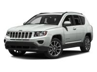 Boasts 26 Highway MPG and 20 City MPG! This Jeep