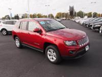 2016 Jeep Compass Latitude Deep Cherry Red Crystal
