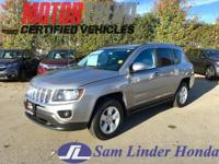 Options:  2016 Jeep Compass Latitude|Advertised Price