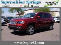 Deep Cherry Red Crystal Pearlcoat 2016 Jeep Compass