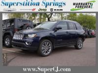 True Blue Pearlcoat 2016 Jeep Compass Latitude FWD CVT