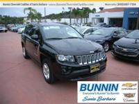 Options:  2016 Jeep Compass Latitude|Black|One Of The