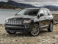 2016 Jeep Compass Latitude26/22 Highway/City MPG