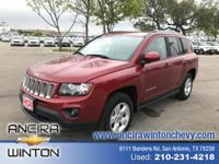 This used Jeep Compass Latitude is now for sale in San