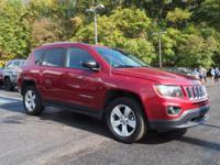 2016 Jeep Compass Sport New Price! Certified. CARFAX