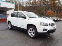2016 Jeep Compass Sport Certified. Clean CARFAX. 4WD,