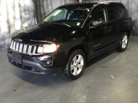 CARFAX One-Owner. Clean CARFAX. Black 2016 Jeep Compass