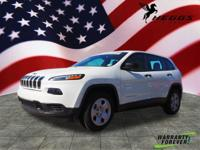 Bright White Clearcoat 2016 Jeep Compass Sport 4WD