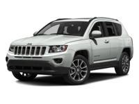 Options:  2016 Jeep Compass Sport|Dark Blue/|V4 2.4 L
