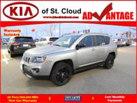 Options:  2016 Jeep Compass Sport|4X4 Sport 4Dr