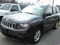 This one owner, 2016 Jeep Compass has 17-inch alloy