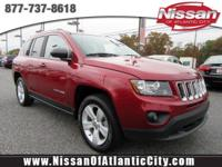 Look at this 2016 Jeep Compass Sport. Its transmission