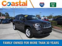 This 2016 Jeep Compass Sport in features: FWD Clean