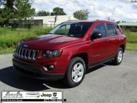 CARFAX One-Owner. Clean CARFAX. Red 2016 Jeep Compass