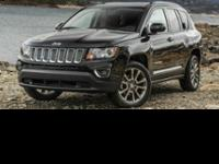 2016 Jeep Compass Sport! Featuring a 2.0L 4 cyls and