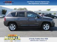 This 2016 Jeep Compass Sport in Gray is well equipped
