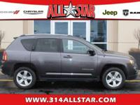 JEEP CERTIFIED! Fun to Drive! Nicely Equipped! Compass
