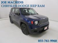CARFAX One-Owner. Clean CARFAX. Blue 2016 Jeep Renegade