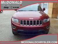 Options:  2016 Jeep Grand Cherokee Laredo  4X4|Miles:
