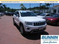 Options:  2016 Jeep Grand Cherokee Limited|White|Hold