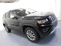 2016 Jeep Grand Cherokee Limited in Black... 4WD! Hurry