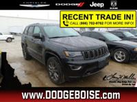 2016 Jeep Grand Cherokee LIMITED 4X4 MOONROOF LEATHER