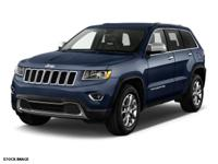 This BLUE 2016 Jeep Grand Cherokee 4WD 4DR LIMITED