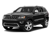 4WD. 2016 Jeep Grand Cherokee Limited   *Used vehicle